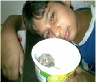 Nilesh Vyas with bird
